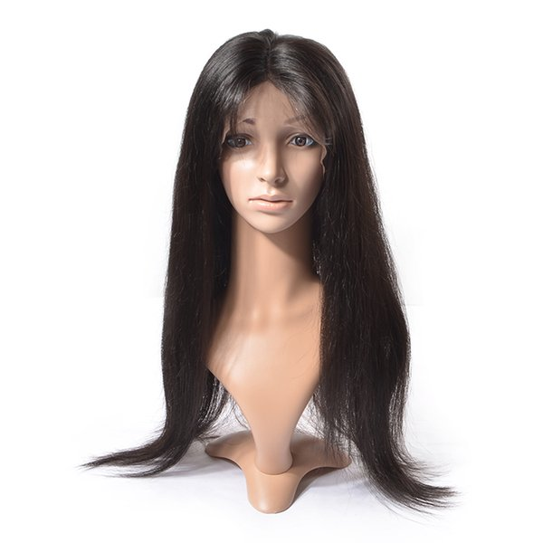24inch Wholesale natural cheap brazilian human hair full lace wigs with baby hair,brazilian full lace human hair wigs for black women