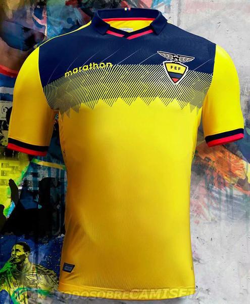 top quality 2019 Copa America Ecuador national soccer jersey 2020 football team Ecuador home away 19 20 Valencia Franco football shirt