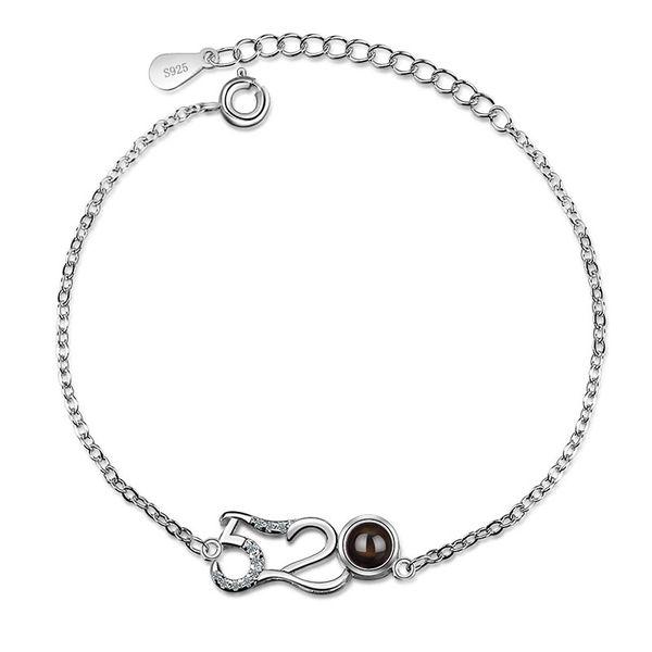 Solid 925 Sterling Silver Jewelry Girls Hot Selling Chain Link Bracelet for Teenagers Female Korea Style Lovely Bracelet Gift