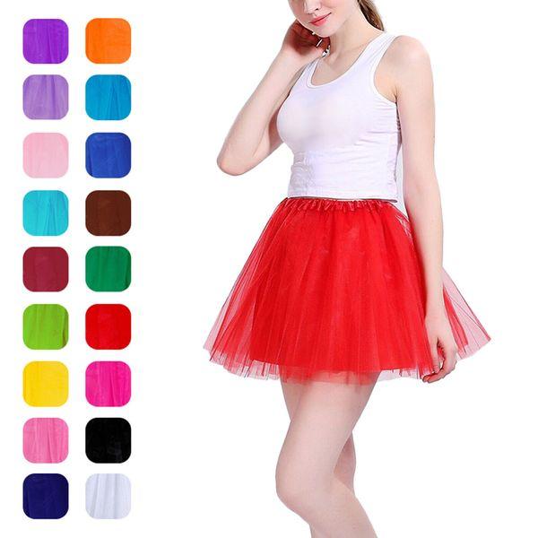 Dreamlike Women Fancy Ballet Dancewear Tutu Pettiskirt Shirt Faldas Dance Fairy Tulle Dress ED-shipping