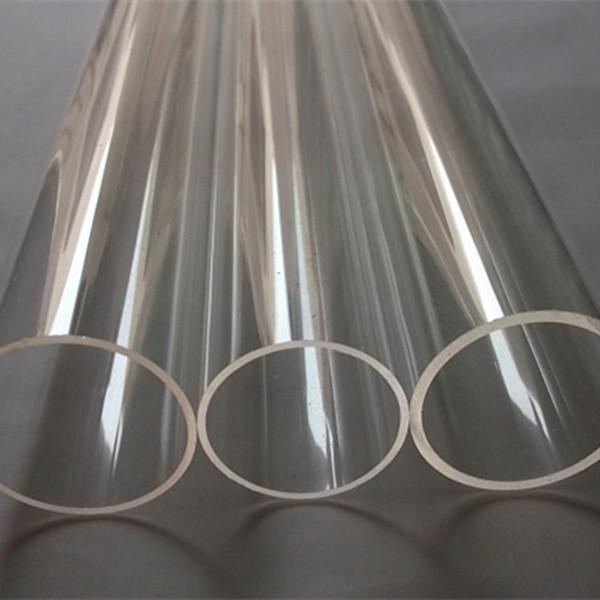 6pcs Acrílico claro Tubo OD80X2X1000MM extrudado Led Lamp Plastic Pipe PMMA Perspex Tubes extrudado Duche Cortina pólos