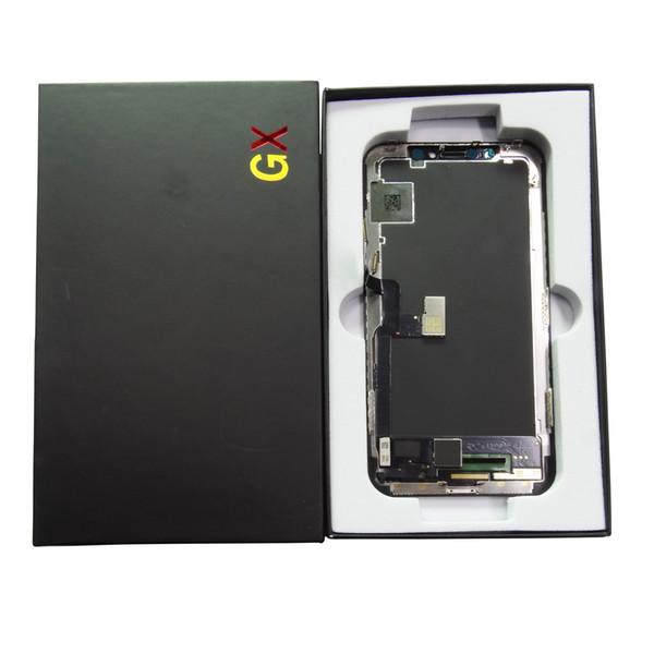LCD Bildschirm Reparatur Teil für iPhone X Soft Amodel GX - LCD Display Touchscreen Digitizer Komplette Baugruppe Ersatz