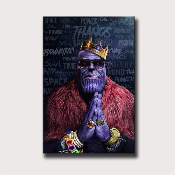 2019 Thanos Artwork Design Avengershome Decor Hd Printed Modern Art Painting On Canvas Unframedframed 24x36 From Xiaozhu1214 598 Dhgatecom