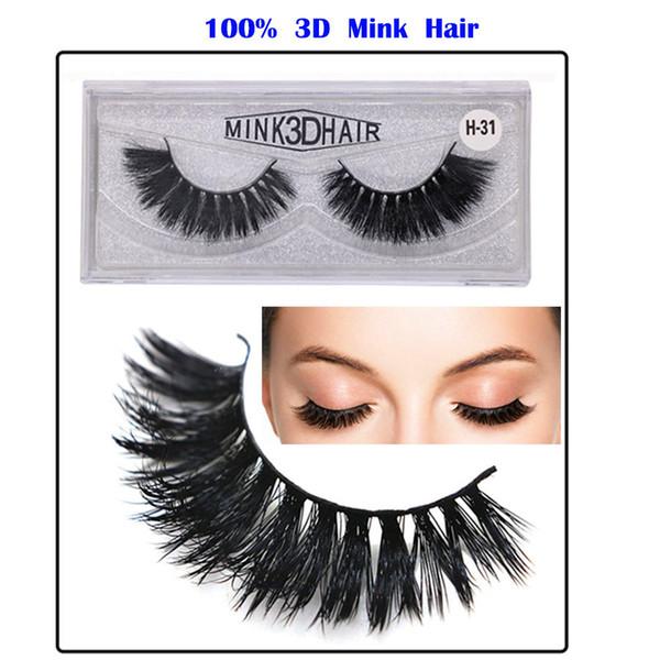 Handmade 3D Mink Eyelashes False Eyelash 3D Mink Lashes Private Logo Eye Lashes Custom Eyelash Packaging Box Individual Eyelash Extension