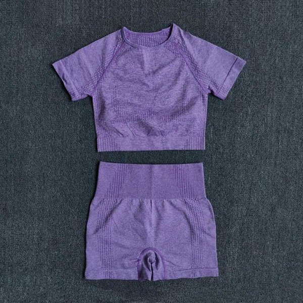 ShirtsShortsPurple