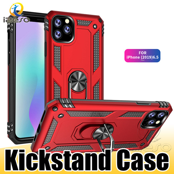 Hybrid Armor Kickstand Phone Case for NEW iPhone 2019 XS MAX XR X 8 7 Plus Samsung NOTE 10 S10 Back Cover izeso
