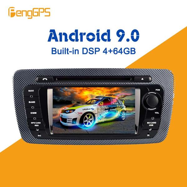 Android 9.0 DSP incorporado Octa Core 4G + 64G Ibiza Car DVD para Seat Ibiza IPS 7 pulgadas Android Radio GPS con Mirror Link RDS