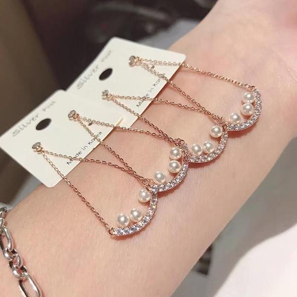 Pendientes de moda para mujer Tone Esmalte Pintura Oreja de plata 925 nueva joyería Diseñador