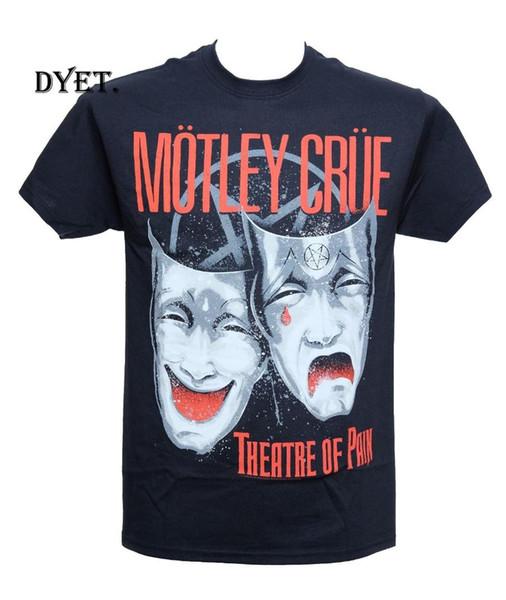 MOTLEY CRUE - THEATRE OF PAIN - Official Licensed T-Shirt New M L XLShort Sleeve LeisureTop Tee Men T Shirt