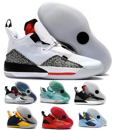 2019 33 33 s Basketbol Ayakkabı Sneakers Erkek Yeni Siyah Çimento PF Uçuş Guo Ailun Geleceği Çin Yeni Yıl XXXIII Zapatilla Sepetleri Ayakkabı