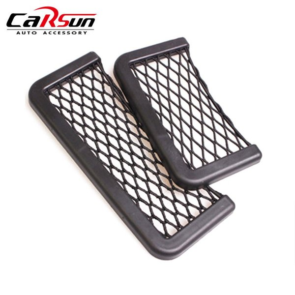 1Pcs 3M Adhesive Net Organizer Car Seat Door Side Phone Holder 15 20cm Creative Car Styling Auto Storage Bag 1Pcs 3M Adhesive