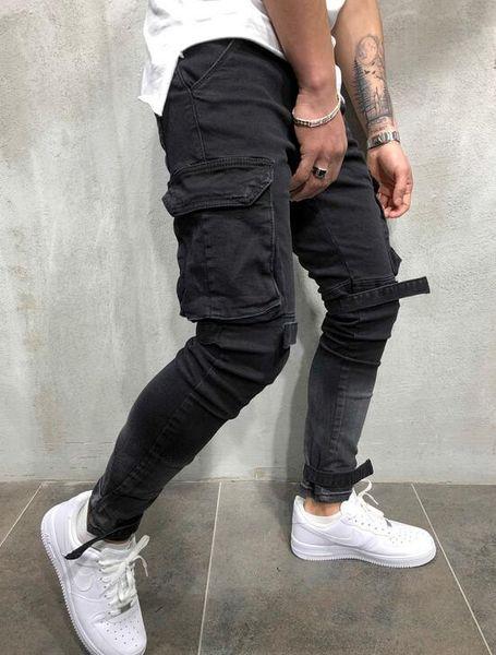 (gros / détail) nouveaux jeans minceur pour les hommes en automne et en hiver