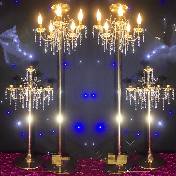 New style Wedding decoration stand gold flower stand wedding centerpiece for sale best01181