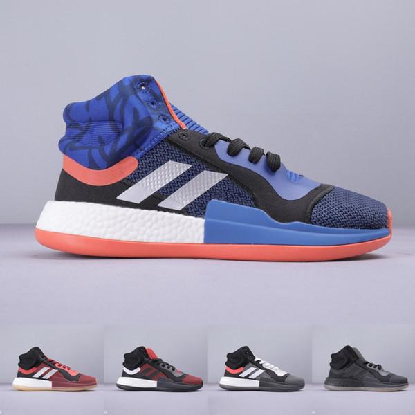 Erkek Marquee Boost PE spor Basketbol ayakkabıları yüksek kesim Çemberler Duvar John Thor Marvel X Sınıf Okul 2019 Yeni Yüksek Tasarımcı Ayakkabı 40-45