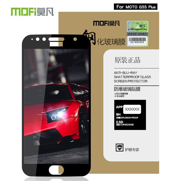wholesale For Motorola Moto G5s Plus glass tempered full cover screen protector For Motorola Moto G5s Plus protective film protection