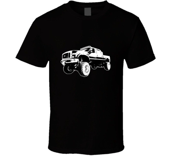 T-shirt Monster Truck per un amante dei camion Uomo Tshirt Unisex Fashion Spedizione gratuita nero