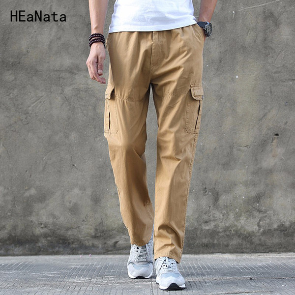2019 Cargo Pants Men Mens Multi Pockets Combat Casual Cotton Loose Long Straight Trousers Army Tactical Sportswear Jogger From Ziron, $34.15 |