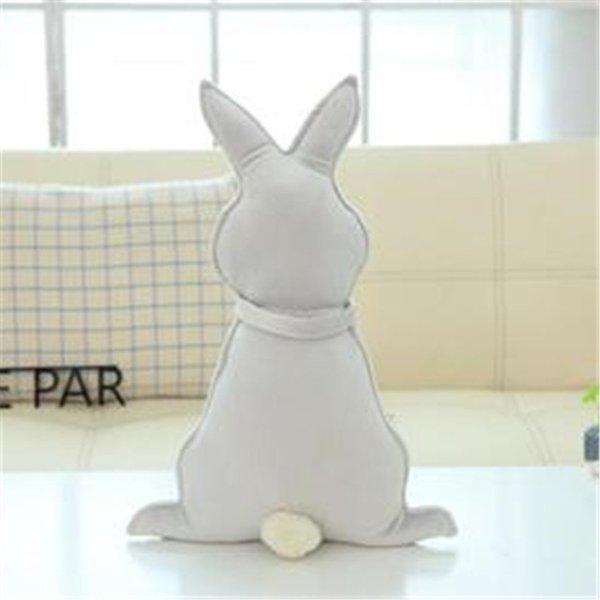 Conejo gris 37X50cm