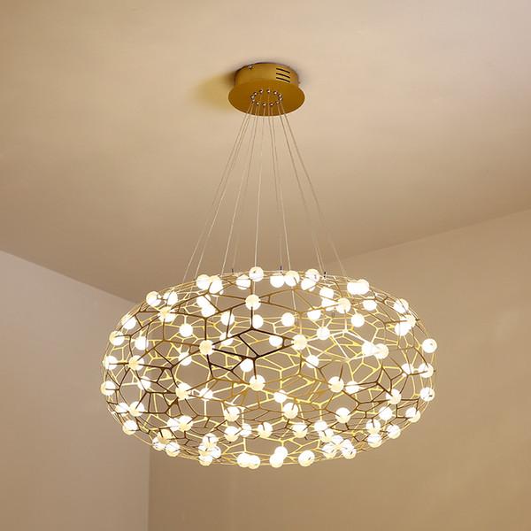LED Décoration moderne Lustre acrylique Suspension Lumières de plafond Décor B253