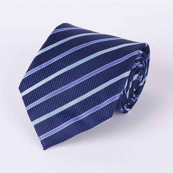 New Men's Tie Fashion Classic Necktie 8cm Striped Plaid Dot Paisley Slim Tie Black Red Blue Skinny Neck Ties For Men Wedding