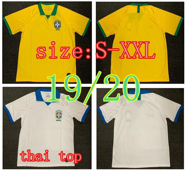Brazil 2020 World Cup.2019 2020 Top Quality World Cup Brasil Soccer Jerseys 19 20