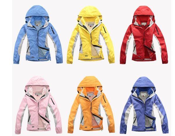 Wholesale-women Waterproof Breathable Softshell Jacket Men Outdoors Sports Coats women Ski Hiking Windproof Winter Outwear Soft Shell jacket