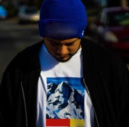 face BOX LOGO Mountain TEE Hip Hop Comics Printed Skateboard Cool T-shirt Men Women Cotton Casual Cartoon T-Shirt XLsupreme