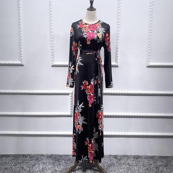 فستان أسود لام