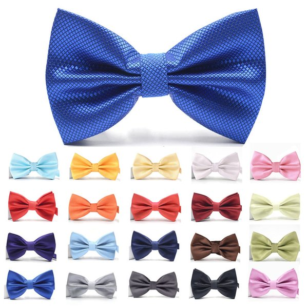 Bowtie For Men Women Banquet Wedding Party Groom Bow Tie Butterfly Knot Red White Mens Bowties