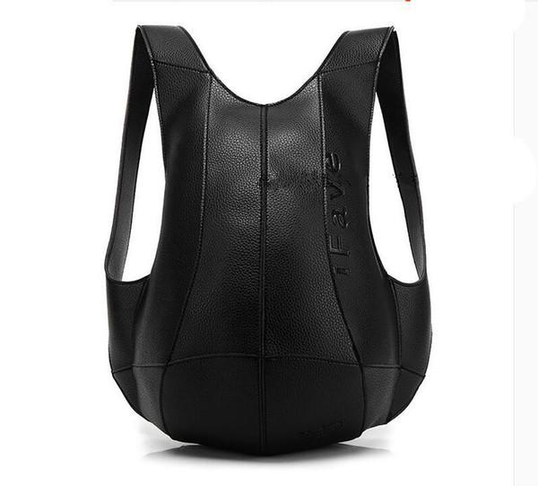 RUILANG Backpack Women Bags Travel Anti Theft Backpack Shoulder Bag Leather Motorcycle PU School Bagpack Men College Turtle Bag