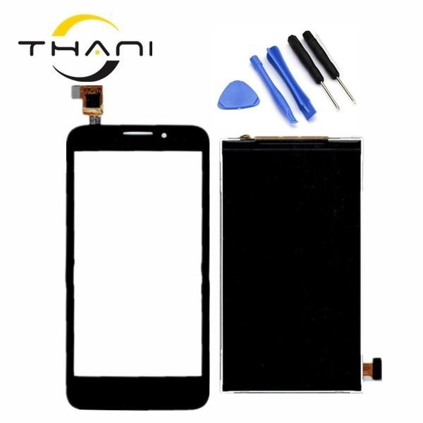 4.5'' ot7024 7024 Touch Screen For Alcatel One Touch OT-7025 OT7025 OT 7025 7025D LCD Display + Screen Digitizer Assembly