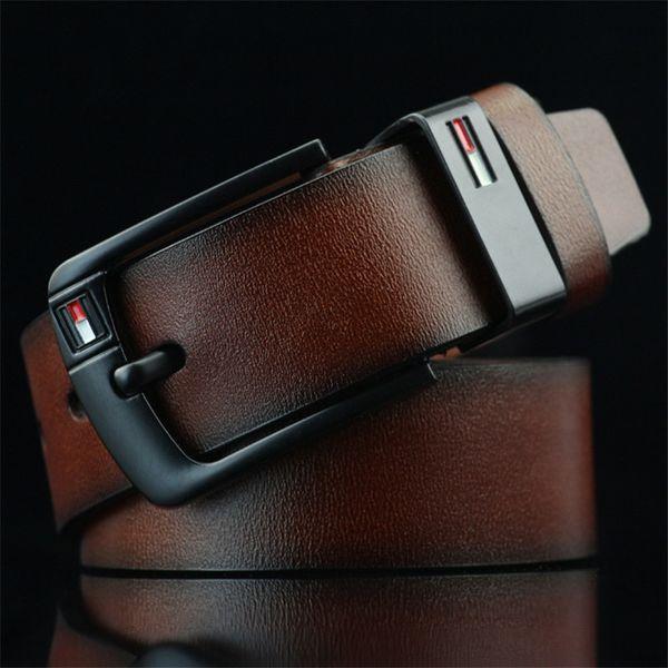 best selling 2019 New designer belt Pin Buckle leather belts for men Luxury mens designer belts good quality waist belt