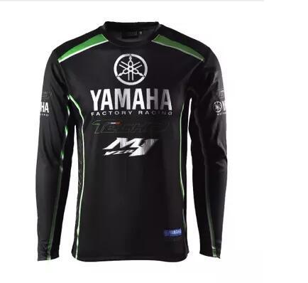 Yamaha primavera e l'autunno del nuovo motociclo maniche lunghe Moto vestiti team Sito camicia ad asciugatura rapida cime traspiranti