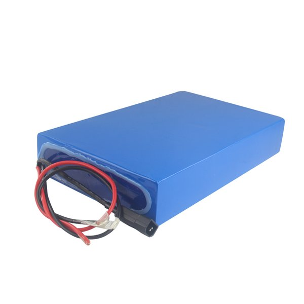 Free shipping AU EU US rechargeable 52v 30ah battery pack for electric bikes High-capacity for 300W to 2000W power with 3A charger