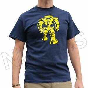 Big Bang O-NeFashion Sheldon 039 s Robot Manbot Uomo Donna Bambini T-shirt e gilet S XXL