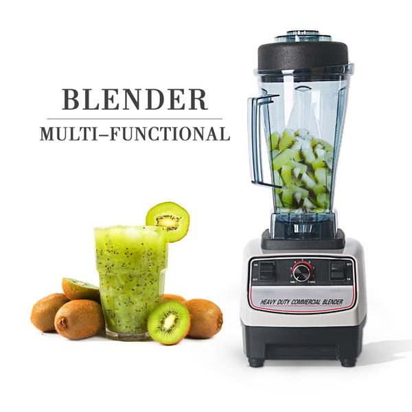 110V Blender Robot da cucina a velocità variabile 2L Capacità Crusher 1200w Ice Crusher Maker Home Juicer commerciale
