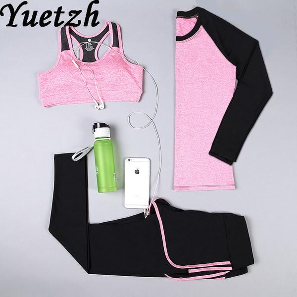 Novas mulheres esporte ao ar livre correndo terno sportswear conjunto de yoga terno ginásio russo roupa de fitness treino de escalada caminhadas desgaste