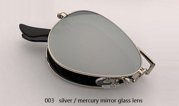003 الفضة / عدسة الزئبق مرآة