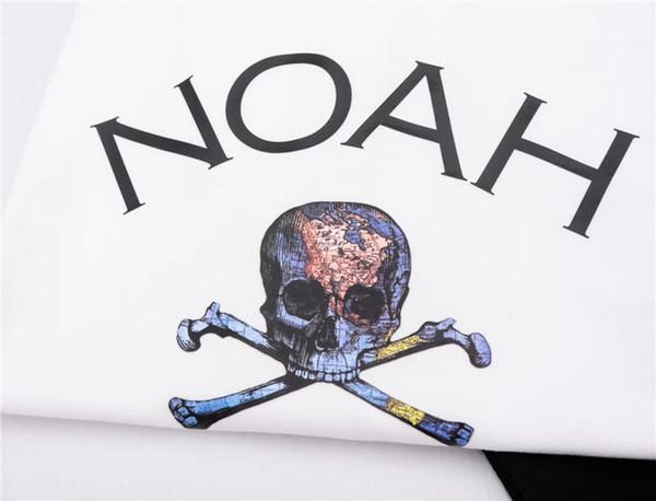 19ss Noah Tee Hommes Femmes 1: 1 Haute Qualité T Shirt Hommes Style D'été Noah T-shirts