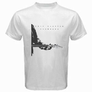 New Eric Clapton Slowhand Album Cover Men's White T-Shirt Size S-3XL