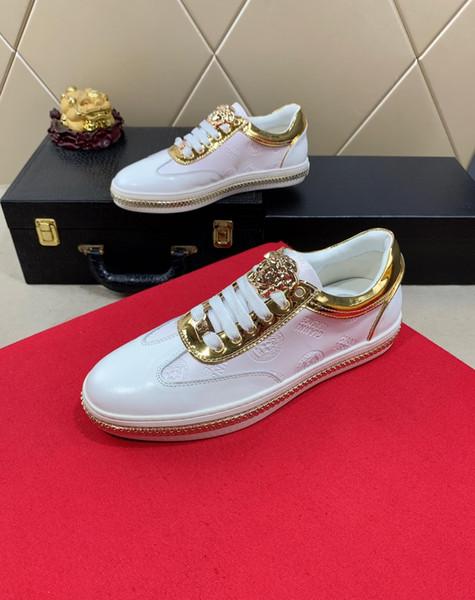 2019 nuove scarpe casual da uomo firmate di lusso in edizione limitata, scarpe sportive da uomo selvagge alla moda all'aperto, yard: 38-45
