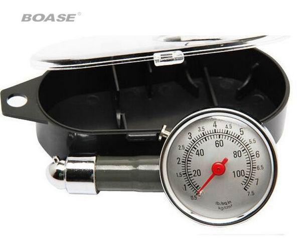 Medidor de neumáticos de automóviles, mesa puede ser medidor de presión de neumáticos desinflado medidor de presión de neumáticos multifuncional