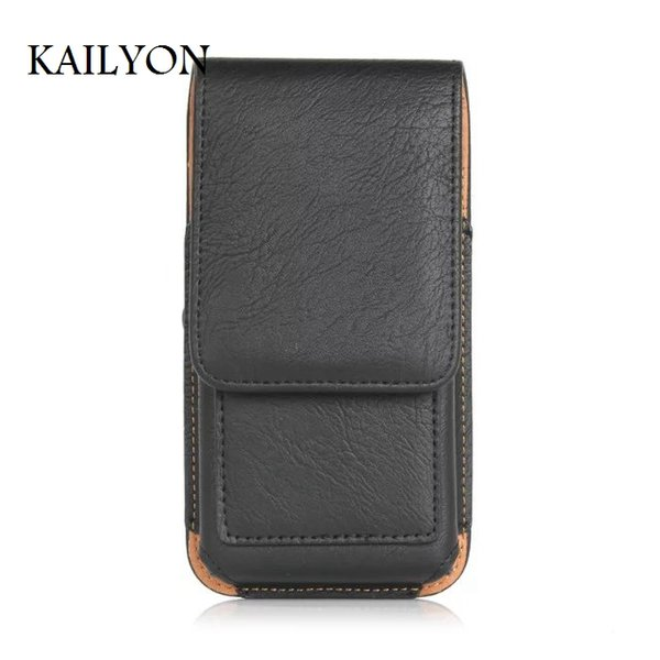 wholesale for Oukitel K10000 Holster Belt Clip Pouch Vertical Leather Case Cover For Oukitel K10000 Climbing Riding