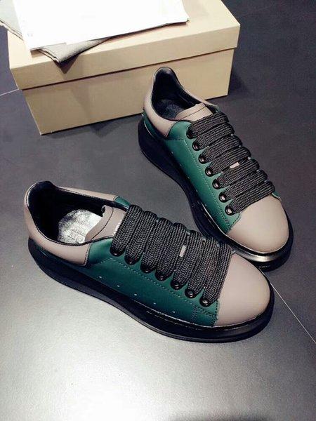 Sans Boîte 2019 Designer De Luxe Hommes Casual Chaussures Meilleur Haute Qualité Hommes Femmes De Mode Sneakers Parti Chaussures De Mariage gs180413