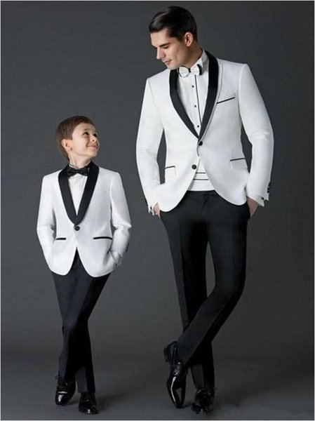 2019 Yeni tasarım Düğün Smokin Custom Made Damat Giyim Resmi takım elbise Iş giyer Şal Yaka Sağdıç Ceket Pant Tasarım Görüntüleri