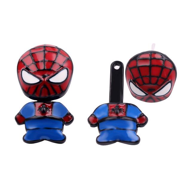 Cartoon Marvel Movie Stud Earring Cute Earrings for Women Girls Enamel Jewelry Iron Man Shape Ear Stud