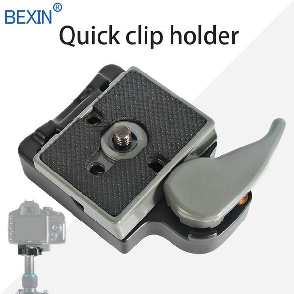 Schnellwechselklemme mit Manfrotto 200PL-14 Plattenumrüstschraube für DSLR-Kamerastativ