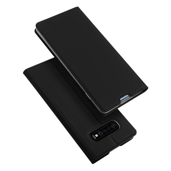 Dux Ducis Luxury PU Leather Card Slot Case For Samsung Galaxy S10 S10 Plus S10Lite A6S A9 J2 Core J6 Plus J4Prime A7
