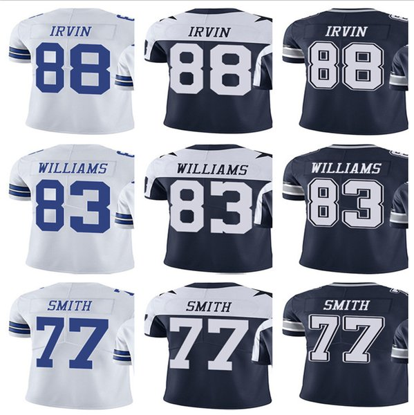 sports shoes 0911b 6252f 2019 2019 Custom Dallas Men'S Women Youth Cowboy Jersey #88 Michael Irvin  83 Terrance Williams 77 Tyron Smith Home White Kids Girls Jerseys From ...