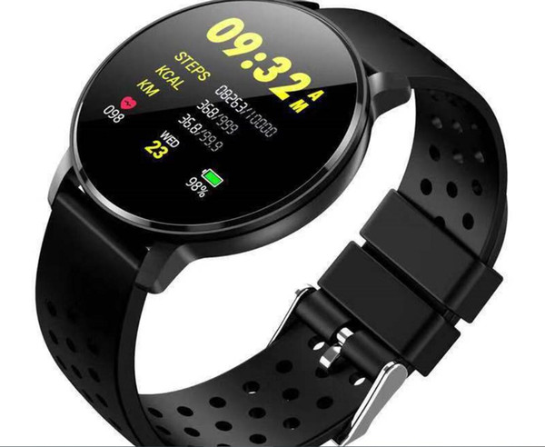 best selling New Arrival Smart Blood Pressure 1.22 Inch Color Screen LCD Smart Fitness Band Smart Bracelet Heart-rate Sleep Monitoring IP68 Waterproof Sm